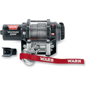 Warn Vantage 2000 Winch w/ Wire Rope - 89020