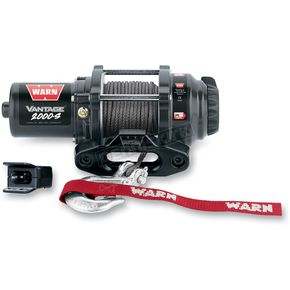 Warn Vantage 2000 Winch w/ Synthetic Rope - 89021