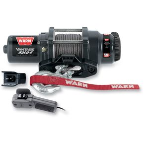 Warn Vantage 3000 Winch w/ Synthetic Rope - 89031