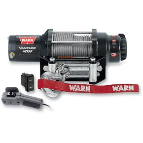 Warn Vantage 4000 Winch w/ Wire Rope - 89040