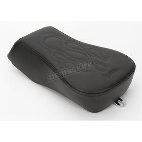 Saddlemen 8 in. Wide Tattoo Leather Sport Pillion Pad - 806-12-0282
