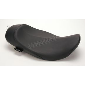 Danny Gray 13 1/2 in. Wide Plain Smooth Buttcrack Solo Seat for Models using RWD Tanks - 20-403RW
