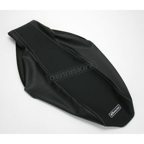 HT Moto ATV Black Carbon Fiber Seat Cover - ATV-H01-BLK