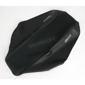 HT Moto ATV Black Carbon Fiber Seat Cover - ATV-H05-BLK