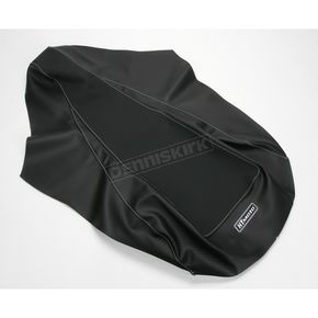 HT Moto ATV Black Carbon Fiber Seat Cover - ATV-K03-BLK