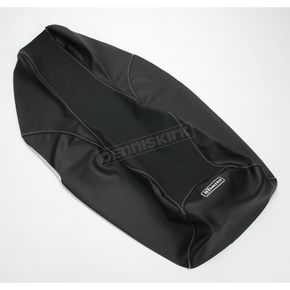 HT Moto ATV Black Carbon Fiber Seat Cover - ATV-P03-BLK