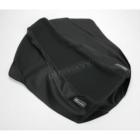 HT Moto ATV Black Carbon Fiber Seat Cover - ATV-Y04-BLK