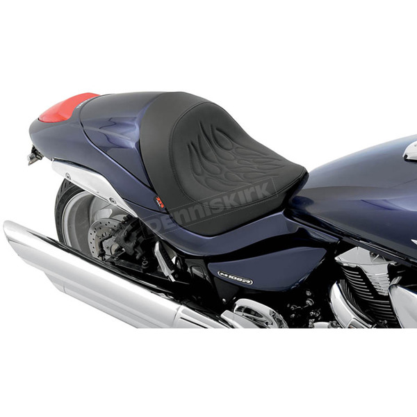 Z1R Tribal Flame Stitch Front Solo Seat - 0810-1771