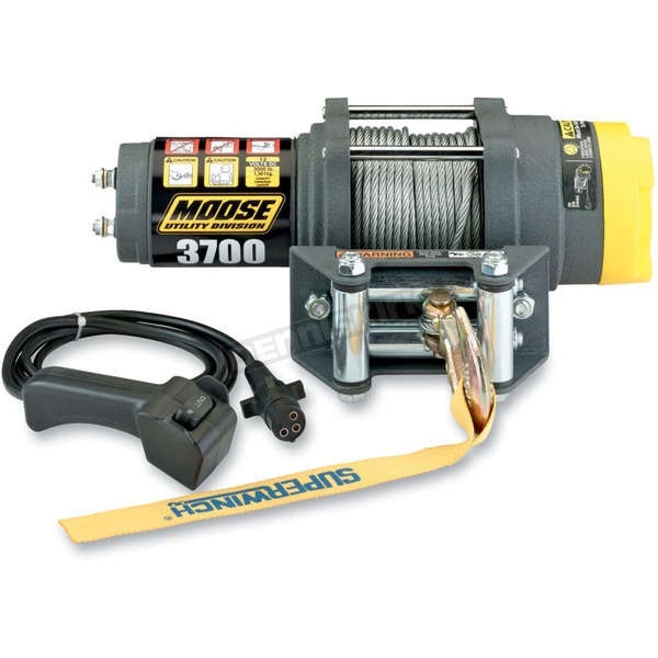 3,700LB Winch with Wire Rope - 4505-0408