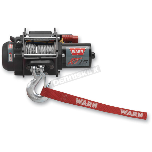 Warn RT15 1500LB Portable Winch with Wire Rope - 86380
