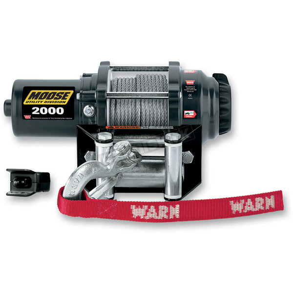 Moose 2000LB Winch with Wire Rope - 4505-0479