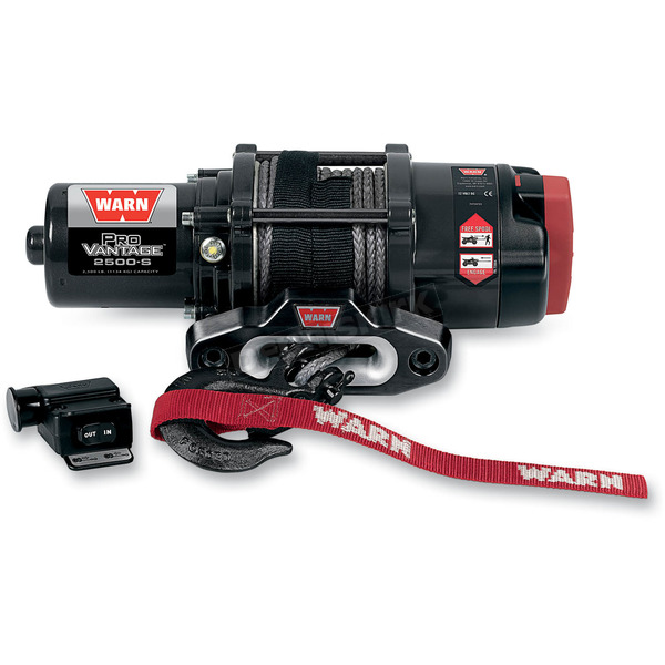 Warn ProVantage 2500 Winch w/ Synthetic Rope - 90251