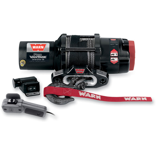 Warn ProVantage 3500 Winch w/ Synthetic Rope - 90351