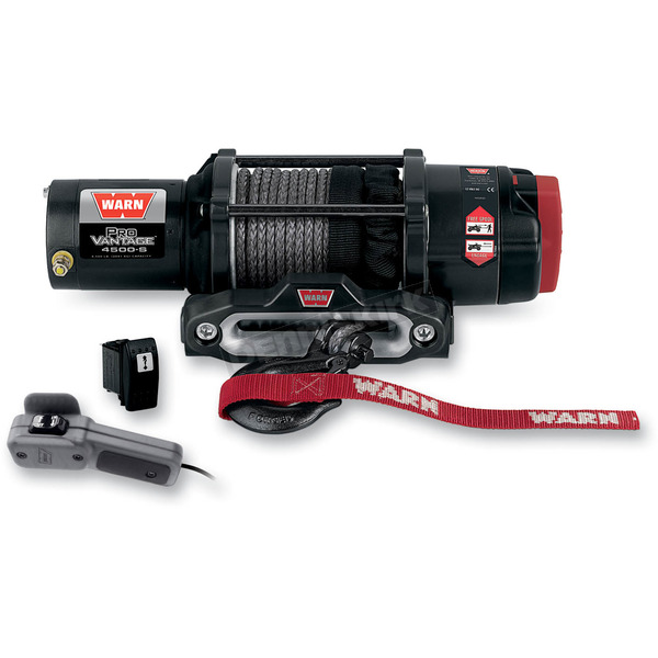 Warn ProVantage 4500 Winch w/ Synthetic Rope - 90451