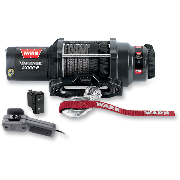 Warn Vantage 4000 Winch w/ Synthetic Rope - 89041
