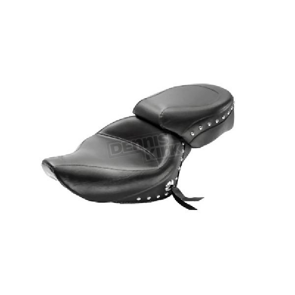 Mustang Seats 15 in. Wide Studded Solo Seat - 76153