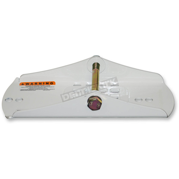 SLP White Mounting Shoe for Powder Pro, Tri-Keel, Tri-Keel II, Ultra-Lite SLT and MoHawk Skis - 35-393