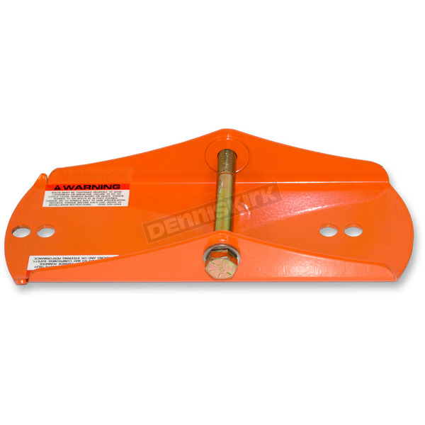 SLP Orange Mounting Shoe for Powder Pro, Tri-Keel, Tri-Keel II, Ultra-Lite SLT and MoHawk Skis - 35-356
