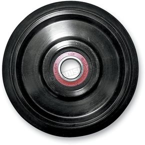 Parts Unlimited Black Idler Wheel w/Bearing - 4702-0080