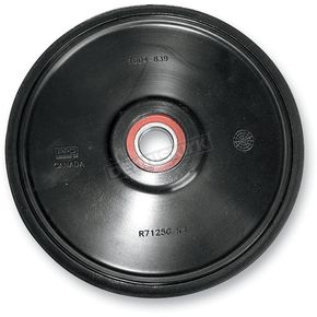 Parts Unlimited Black Idler Wheel w/Bearing - 4702-0094
