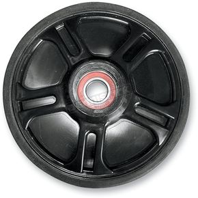 Parts Unlimited Black Idler Wheel w/Bearing - 4702-0095
