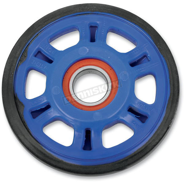 Parts Unlimited Blue Idler Wheel w/Bearing - 4702-0090