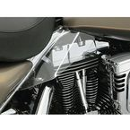 Reflective Smoke Saddle Shields - 1188
