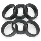 Flat Bands for Clamp-On Footpegs - 409
