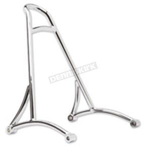 Burly Brand Chrome Short Sissy Bar w/o Pad - B13-1500C