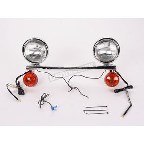 Cobra Steel Lightbar/Spotlight Kit w/Turn Signals - 04-0101