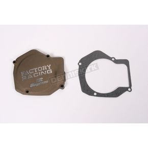 Factory Racing Ignition Cover-Magnesium - SC-01AM