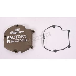 Factory Racing Ignition Cover-Magnesium - SC-11AM
