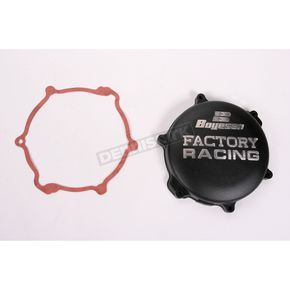 Boyesen Factory Racing Black Clutch Cover - CC-33B