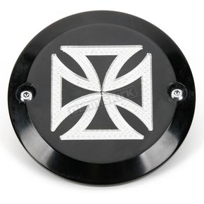 Accutronix Black Anodized Maltese Cross Points Cover - C1604-CB