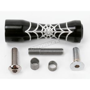 Pro-One Black Spider Web Toe Pegs - 502920B