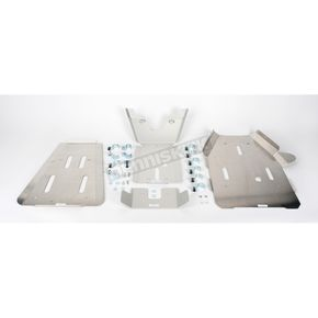 Moose Full Chassis Aluminum Skid Plate - 0506-0300