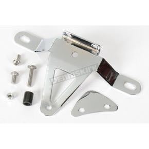 Show Chrome License Plate Relocation Bracket - 71-129