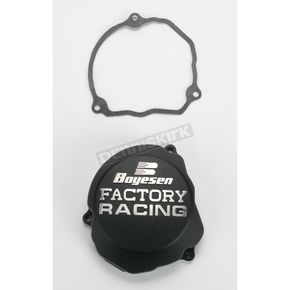 Boyesen Factory Racing Black Ignition Cover - SC-46B