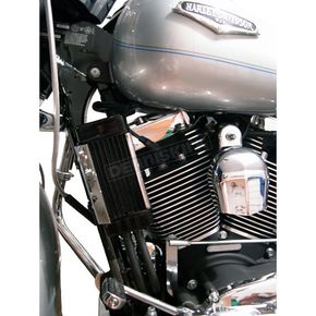 Jagg Vertical Mount Ten-Row Oil Cooler - 2180