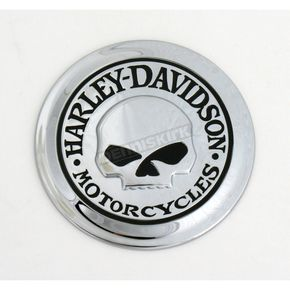 Harley-Davidson Inc Willie G Skull Fuel Cap Medallion - 9966904