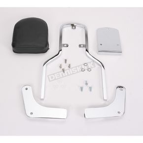 MC Enterprises Sissy Bar w/Plain Pad - 291-10