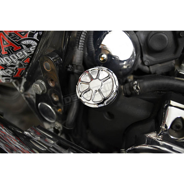 LA Choppers Dipstick Cover - LA-F370-02