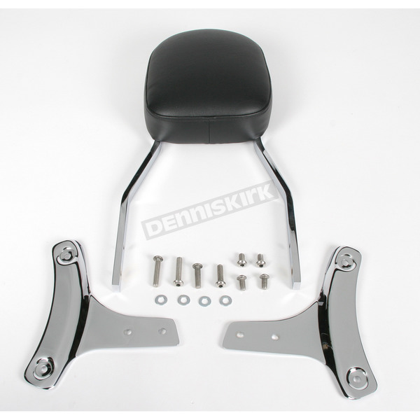 Cobra Tall Square Sissy Bar w/Pad - 02-5115