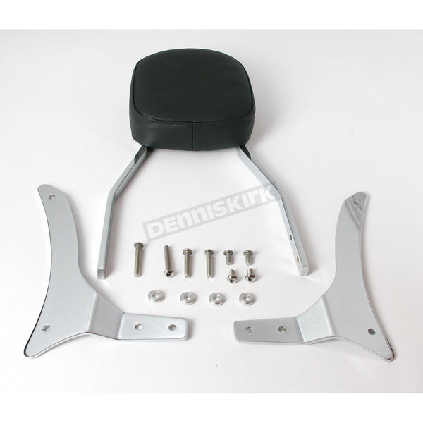 Cobra Tall Square Sissy Bar w/Pad - 02-5463