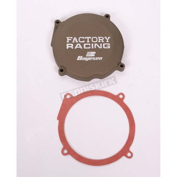 Boyesen Factory Racing Ignition Cover-Magnesium - SC-02M