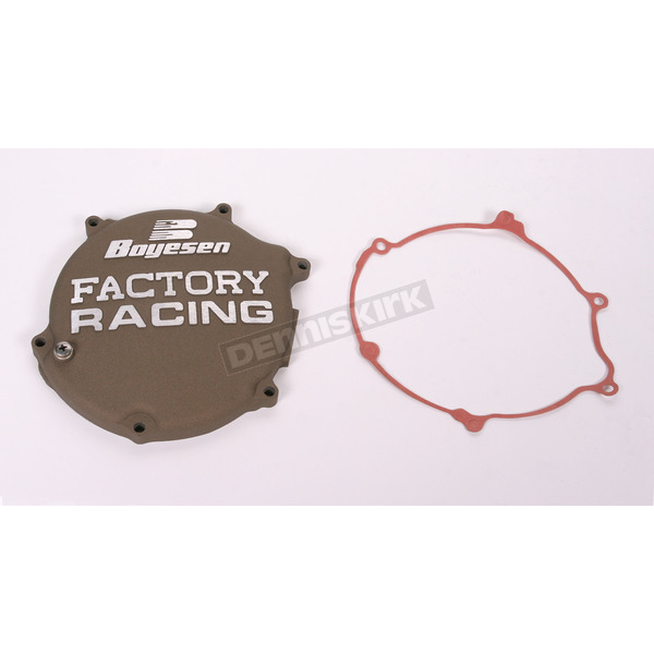 Boyesen Factory Racing Magnesium Clutch Cover - CC-11AM