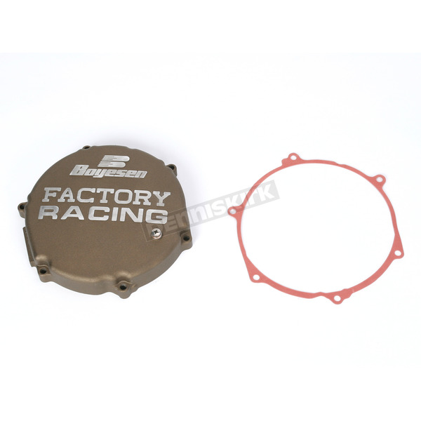 Boyesen Factory Racing Magnesium Clutch Cover - CC-12M