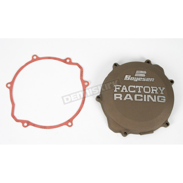 Boyesen Factory Racing Magnesium Clutch Cover - CC-32AM