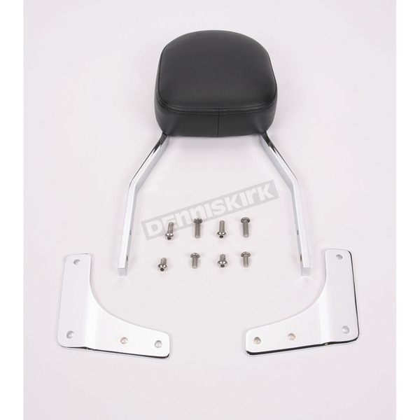 Cobra Tall Square Sissy Bar w/Pad - 02-5135