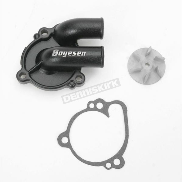 Boyesen Supercooler Water Pump Cover and Impeller Kit - WPK-10B